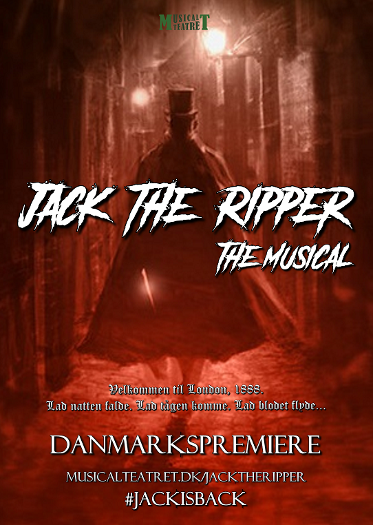 Jack the Ripper The Musical (plakat) hjemmeside