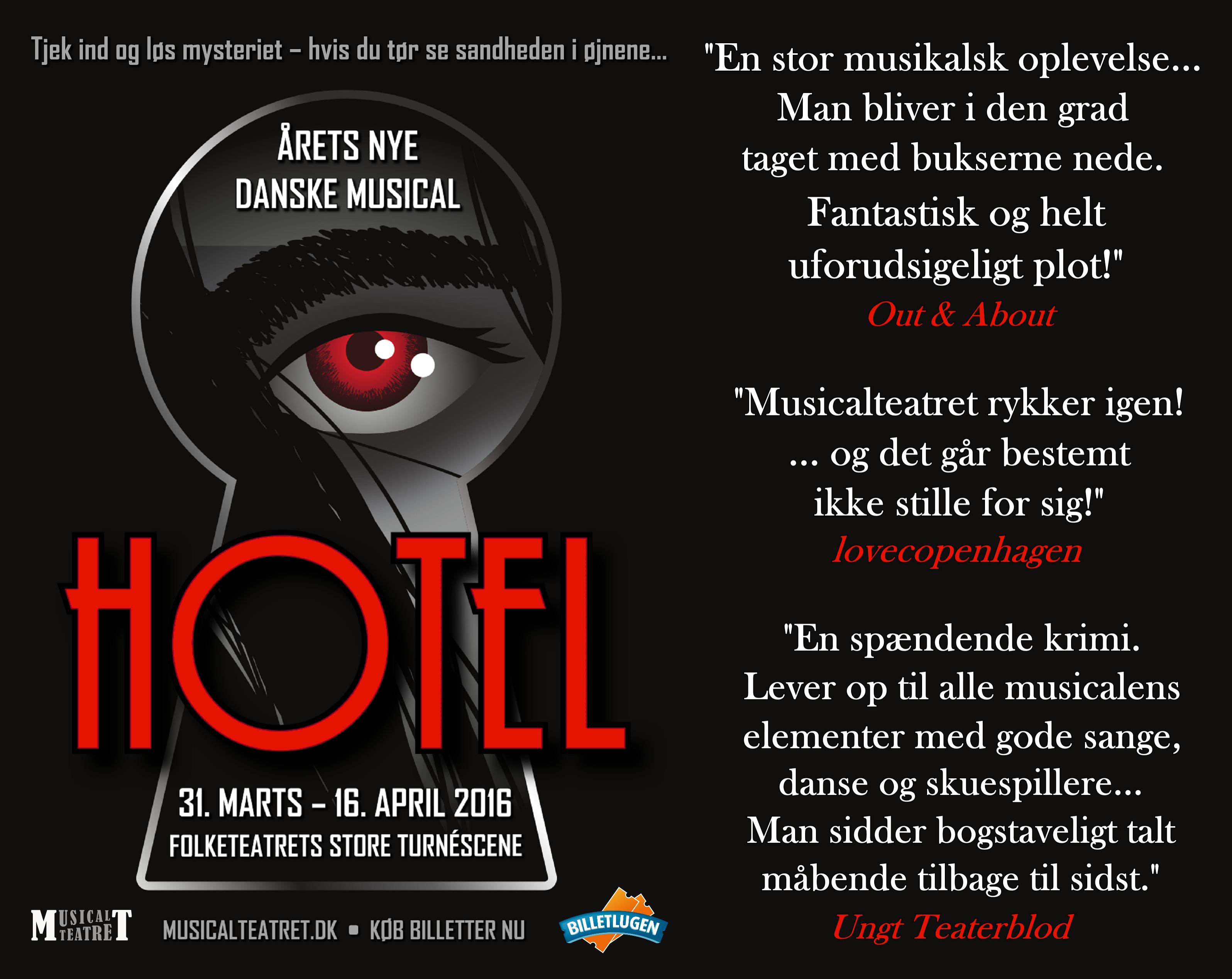 51d7b67d41c Hotel (Musicalteatret) | Musicalteatret