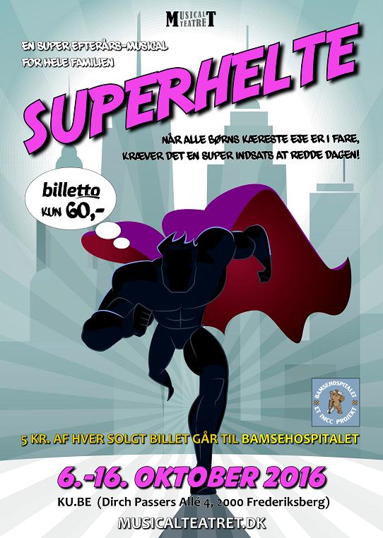 Plakat hjemmeside Superhelte