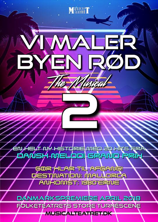 Vi maler byen rød The Musical 2 (plakat) hjemmeside