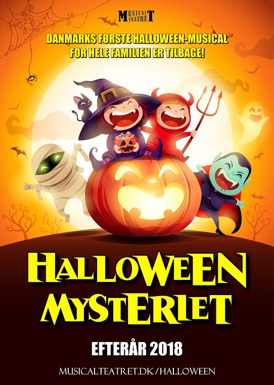 Halloween-mysteriet 2018 plakat (hjemmeside)
