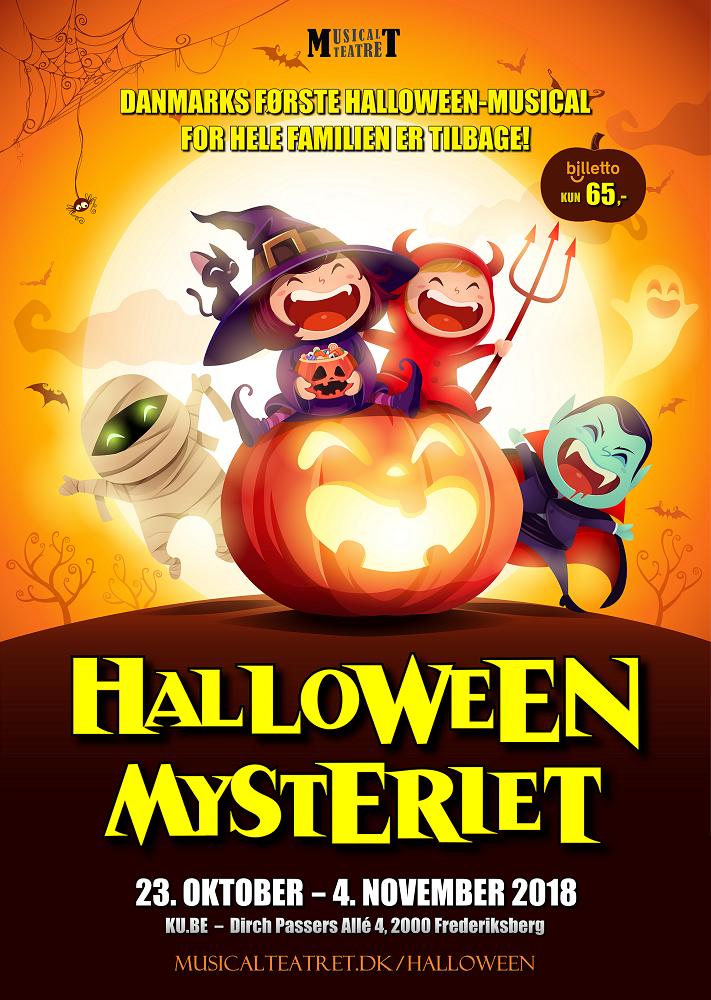 Halloween-mysteriet (plakat) MT